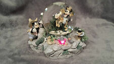 DISNEY MICKEY MOUSE WESTERN MUSICAL & LIGHT UP SNOWGLOBE PLAYS HOME ON THE RANGE