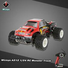 WLtoys A212 RC Monster Truck Car 1/24 2.4G Electric Brushed 4WD RTR P8R5