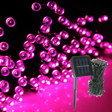 200 LED 65ft String Fairy Light Solar Powered Waterproof DIY Party Holiday Decor
