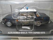 ALFA ROMEO GIULIA 1600 SUPER 1970 CARABINIERI DE AGOSTINI 1/43