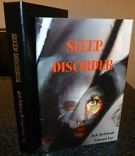 EDWARD LEE JACK KETCHUM - SLEEP DISORDER LETTERED SIGNED TRAYCASE GAUNTLET PRESS