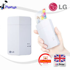 LG Pocket Photo PD251 Mini Portable Mobile Photo Printer White