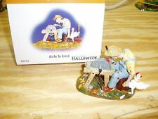 Department 56 Halloween  An Ax to Grind  # 804456  with box
