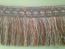 Tassel Fringe / Fringing Trim Luxury 9cm **DIFFERENT COLOURS** x ONE YARD