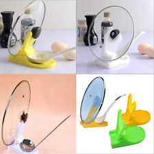 DIY Useful Spoon Pot Lid Shelf Cooking Storage Kitchen Decor Tool Stand Holder
