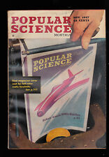 November 1947  Popular Science Magazine- PSM Kodachrome