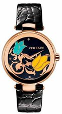 Versace Mystique Flora Rose Gold Ion-Plated SWISS Watch I9Q80SD9TU $1680