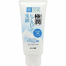 Rohto Hada Labo  Hadalabo Gokujyun Hyaluronic Cleansing Foam Face Wash 100g New