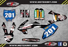 KTM 50 2016 model SAFARI STYLE - Full Graphics, custom kit stickers decals