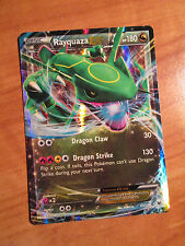 NM Pokemon RAYQUAZA EX Card ROARING SKIES Set 60/108 XY X and Y Ultra Rare 180HP