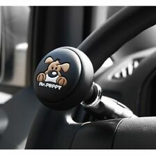 AUTOCOM MR PUPPY Car Power Steering Wheel Spinner Knob Handle Clamp Black
