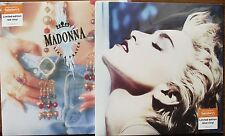 MADONNA - Like A Prayer / True Blue - 2x LP Red/Blue Vinyl Sainsbury's 2016