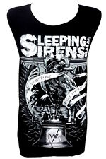 Sleeping with Sirens Raven Rock Band Unisex Tank Top Vest T-Shirt Size M