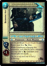 LOTR LOTR TCG TREACHERY & DECEIT Beorning Axe 18O1 1801 FOIL NM slight back wear