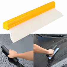 "14"" Car Window Film Scraper Water Tool Cleaner Tint Clear Silicone Blade New"