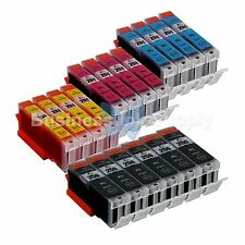 18 PK Canon PGI-250XL CLI-251XL Compatible Ink Cartridge PGI-250 CLI-251 4x3CLR