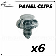 Panel Clips Renault Kangoo Master Trim Clips 6 Pack Part 11286  8 TO 10 MM