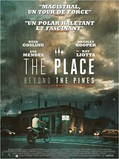 Affiche Pliée 40x60cm THE PLACE BEYOND THE PINES (2013) Ryan Gosling TBE