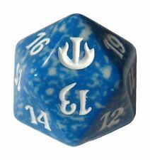 Magic SPINDOWN Dice d20 JOU Blue Blu Dado Segna Punti Life Counter MTG Wizards
