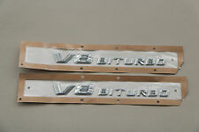 Genuine Mercedes V8 Biturbo AMG Fender Decal PAIR S 222 217 C 205 CLS 218 E212