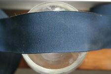 "1 yards 2 1/4"" wide vintage roll grosgrain midnight blue ribbon hat band dress"