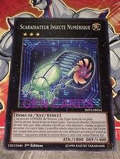 Carte Yu Gi Oh SCARADIATEUR INSECTE NUMERIQUE SHVI-FR054 x 3