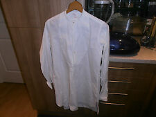 1920s Ranken & Co  Collarless Faille Fronted Dress Shirt size 14.5""
