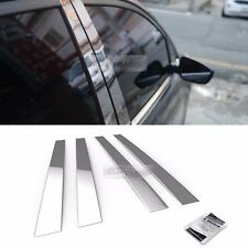 Stainless Steel Chrome Window Pillar Molding 4P For HYUNDAI 1999-2005 Sonata EF