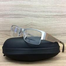 Emporio Armani EA 1018 Eyeglasses Frames Matte Palladium 3045 Authentic 53mm