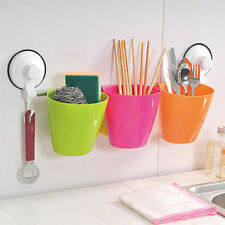 Modern Super Power Suction Kitchen/Bathroom/Cosmetic Storage Basket