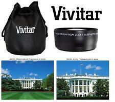 Vivitar HD4 Optics 2.2x Pro HD Telephoto Lens For Nikon D5100