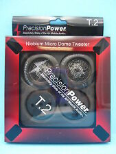 "Precision Power T. 2 ""Tweeter costruito nel CROSS OVER 100W 4OHM PPI Suono di qualità!!"