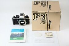 C013-613***Mint+++***Nikon F3 T 35mm SLR Film Camera  in Box from Japan