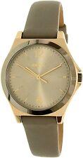 Dkny Women's Parsons NY2482 Grey Leather Quartz Watch