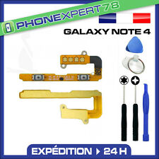 NAPPE BOUTON VOLUME pour SAMSUNG GALAXY NOTE 4 + OUTILS