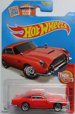 2016 Hot Wheels THEN AND NOW 1/10 Aston Martin 1963 DB5 101/250 (Red Version)