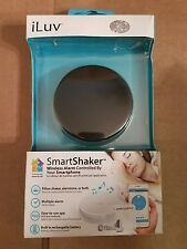 SmartShaker by iLuv Award Winning App Enable Wireless Smart Wake Up Alarm Shaker