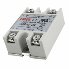 New SSR-40DA 40DA Solid State Relay 24V-380V 40A Minitype DC-AC One-Phase