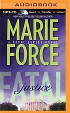 The Fatal: Fatal Justice Bk. 2 by Marie Force (2015, MP3 CD, Unabridged)