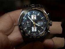 Tissot PR516 Valljoux 7750 Carbon Fiber Chronograph barely used