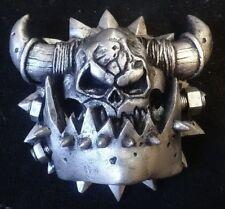 40k ork symbol pin