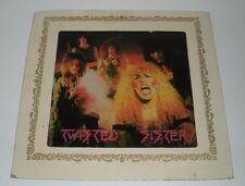 Vintage Twisted Sister Glass Mirror Carnival Prize (8 X 8 Inches,Circa 1980's)
