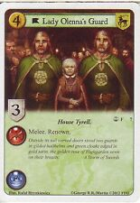 3 x Lady Olenna's Guard AGoT LCG 1.0 Game of Thrones Reach of the Kraken 7