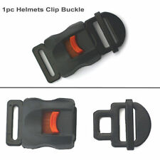 1xMotorcycle Helmets Speed Black Clip Buckle Chin Strap Quick Release Disconnect