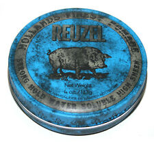 REUZEL BLUE Strong Hold Water Based Pomade Made In USA 4Oz 113g NEW
