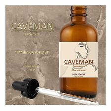 HAND CRAFTED DEEP FOREST Beard Oil Conditioner 2oz By CAVEMAN® Beard Care Shave