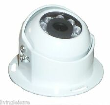 Heavy Duty Round Rear View Camera with night vision for motorhome, van, bus.