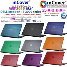 "mCover Hard Case for 15.6"" Dell 15 3000 (3552/3558/3559/3560/5558/5559) laptop"