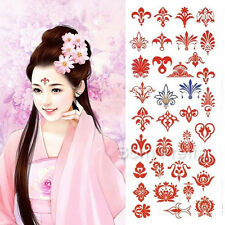 Face Sticker Tatto For Party Kids Removable Waterresistant Temporary Tattoo