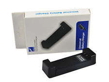 UNIVERSAL TRAVEL CAMERA BATTERY CHARGER Sony Nikon Samsung Canon Fuji Lumix